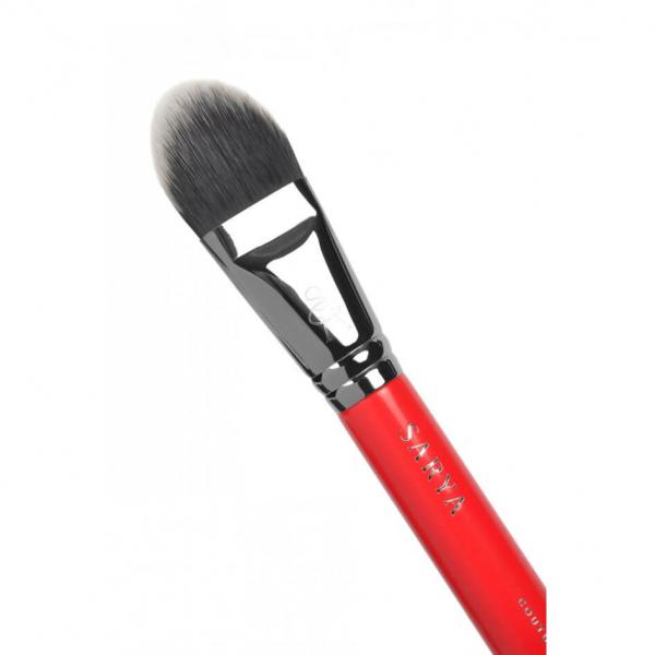 Pensula pentru fond de ten - 102 Face Curve, SARYA COUTURE MAKEUP [1]
