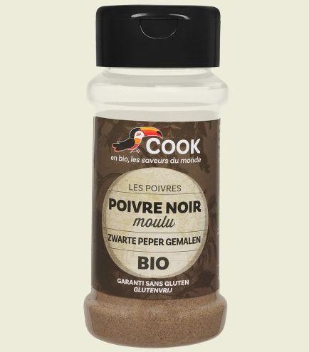 Piper negru macinat bio 45g Cook 0