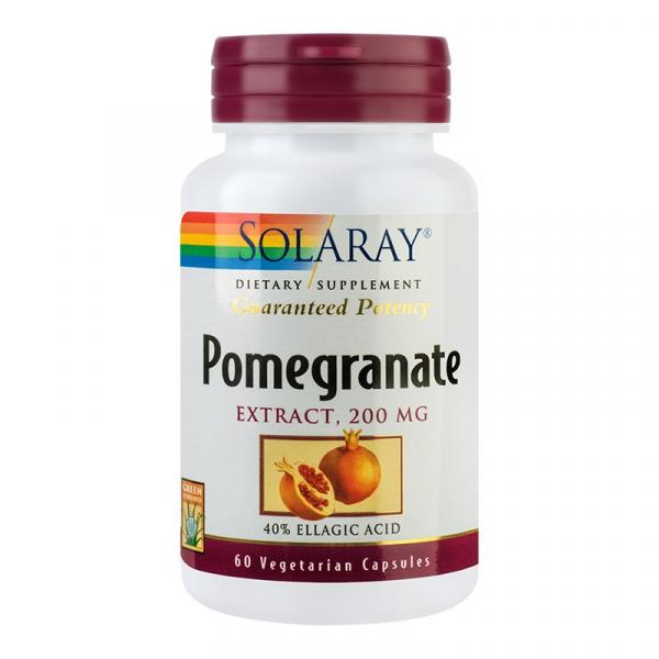 Pomegranate Solaray, 60 capsule 0