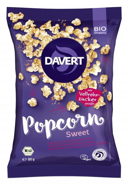 Popcorn dulce bio 80g DAVERT 0