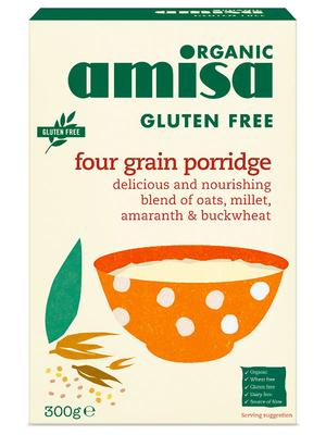 Porridge din ovaz fara gluten bio 325g 0