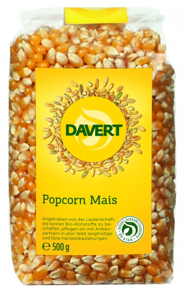 Porumb pentru popcorn bio 500G DAVERT 0