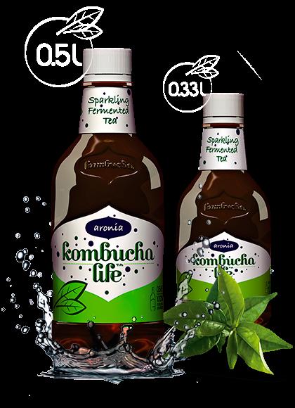 Kombucha Life cu aronia 500ml 0
