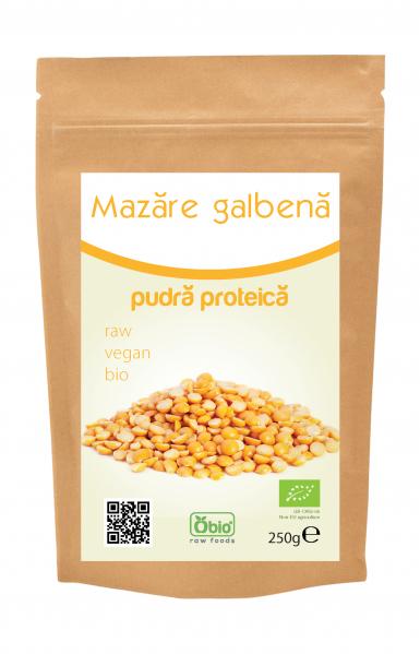 Proteina din mazare pulbere bio 250g 0