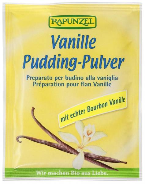 Pudră budincă de vanilie bio 0