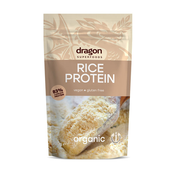 Pudra proteica din orez bio 200g 0