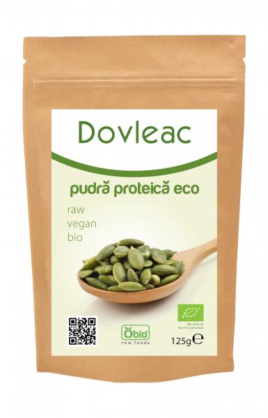 Pudra proteica din seminte de dovleac eco 125g OBIO 0
