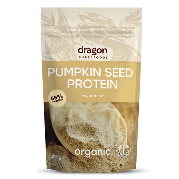 Pudra proteica din seminte de dovleac raw eco 200g 0
