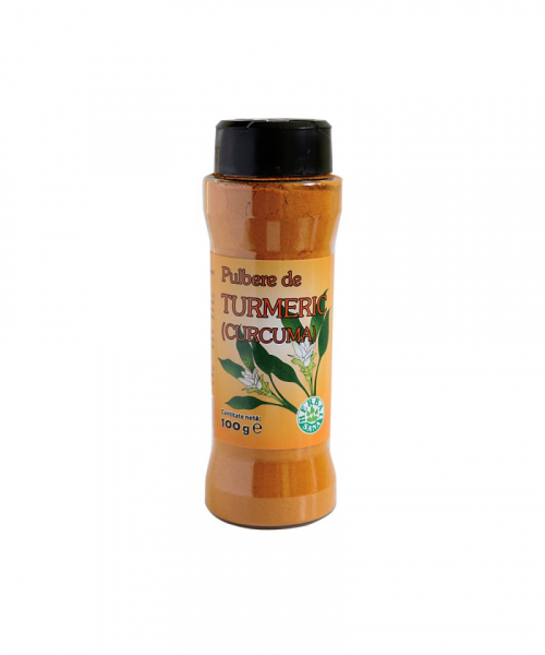 Pulbere de Turmeric, 100 g, Herbavit 0