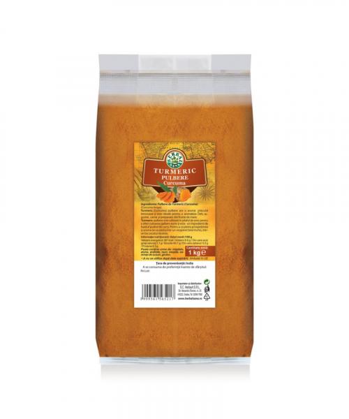 Pulbere de Turmeric, 1000 g, Herbavit 0