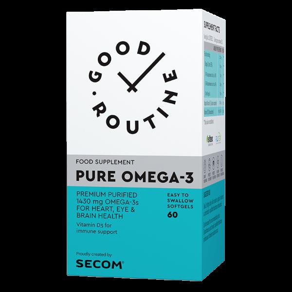 Pure omega-3, 60 capsule, SECOM GOOD ROUTINE [0]