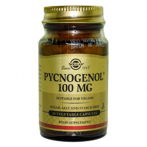 Pycnogenol 100 mg, 30 capsule, Solgar 0