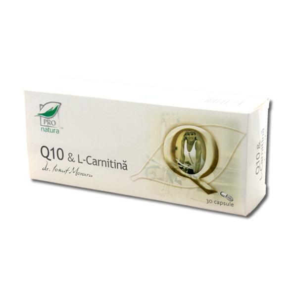 Q10+l carnitina, 30 capsule, Medica [0]