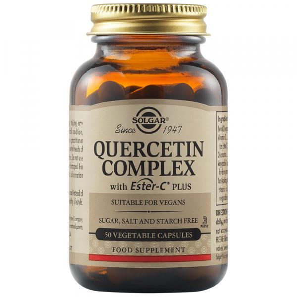 Quercetin Complex cu Ester C 50 caps  SOLGAR 0