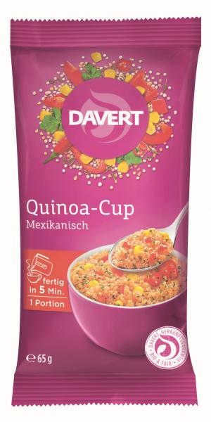 Quinoa cup mexican-style bio 65g DAVERT 0