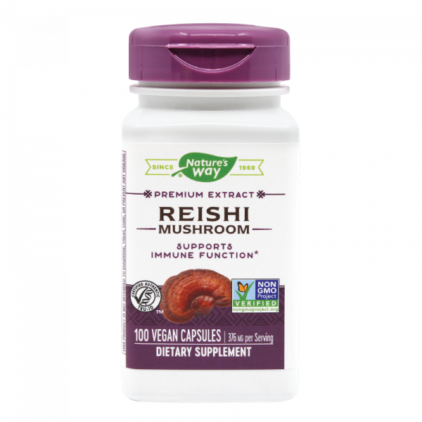 Reishi Nature's Way, 100 capsule 0