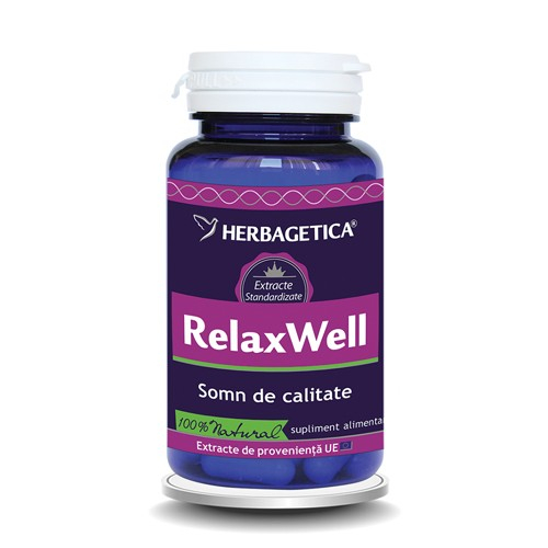 Relax well, 60 capsule, Herbagetica 0