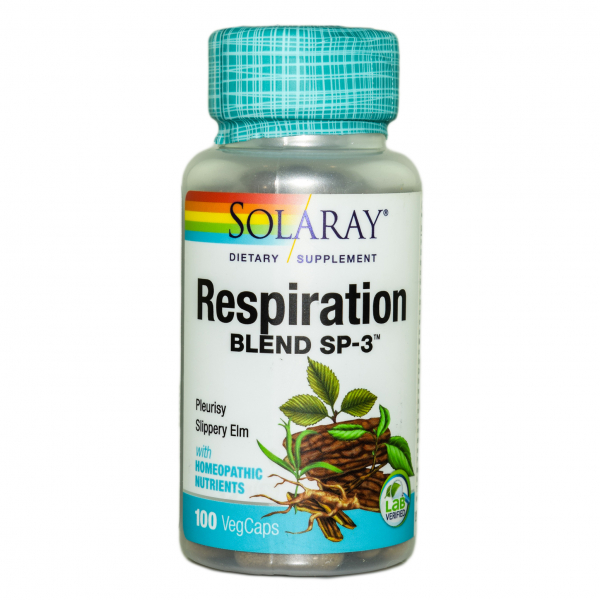 Respiration Blend Solaray, 100 capsule 0