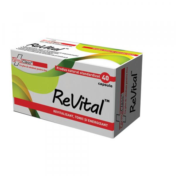 ReVital, 40 capsule, FarmaClass 0