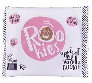 Rookies - cookie cu caise si vanilie bio 40g 0