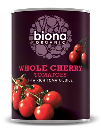 Rosii cherry la conserva bio 400g 0
