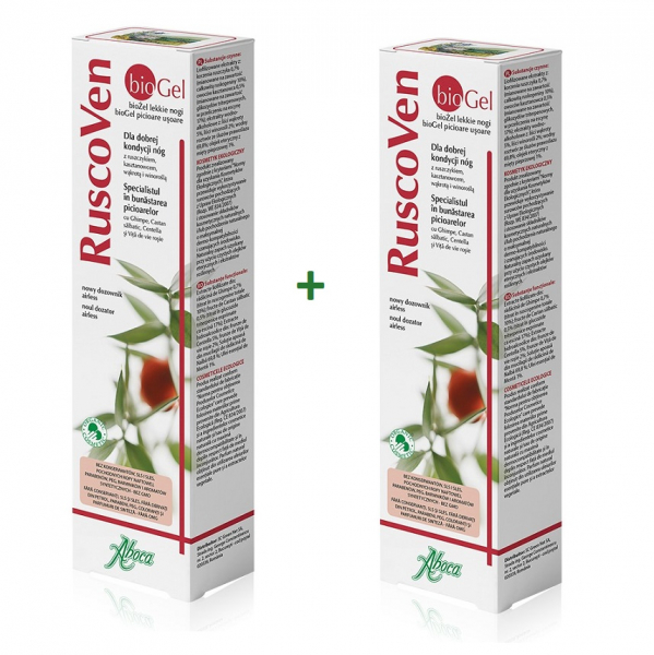 Ruscoven gel, 100ml (1+1), Aboca 0