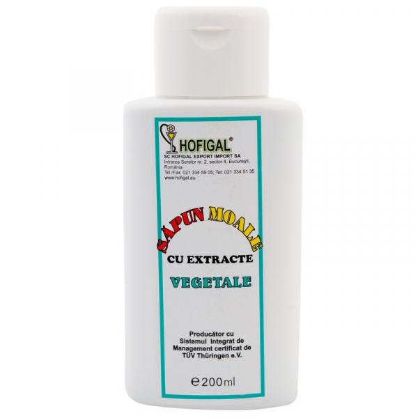Săpun moale lichid vegetal, 200 ml, Hofigal [0]