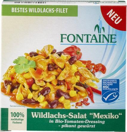 Salata de somon salbatic Mexico 0