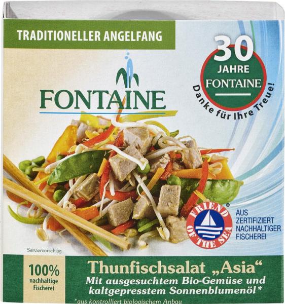 Salata de ton Asia 0