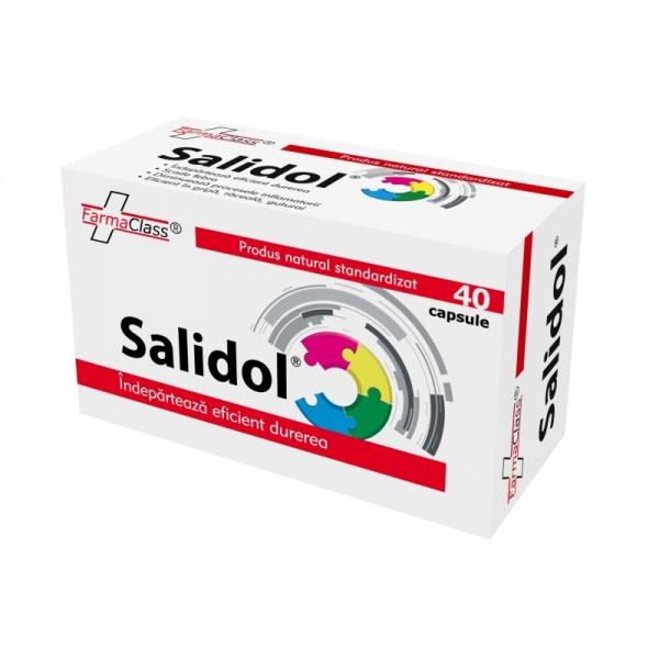 Salidol, 40 capsule, Farma Class 0