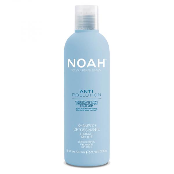 Sampon detoxifiant cu moringa si aloe vera - Anti Pollution, Noah, 250 ml [0]