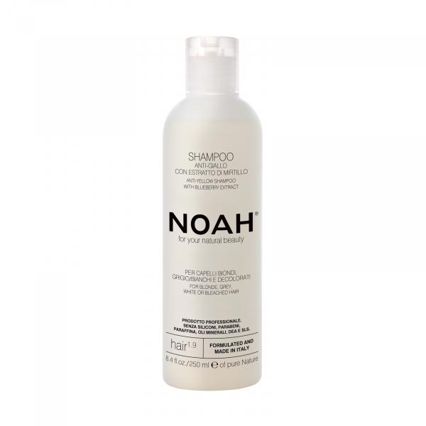 Sampon natural anti-yellow cu extract de afine, 1.9, Noah, 250 ml [0]