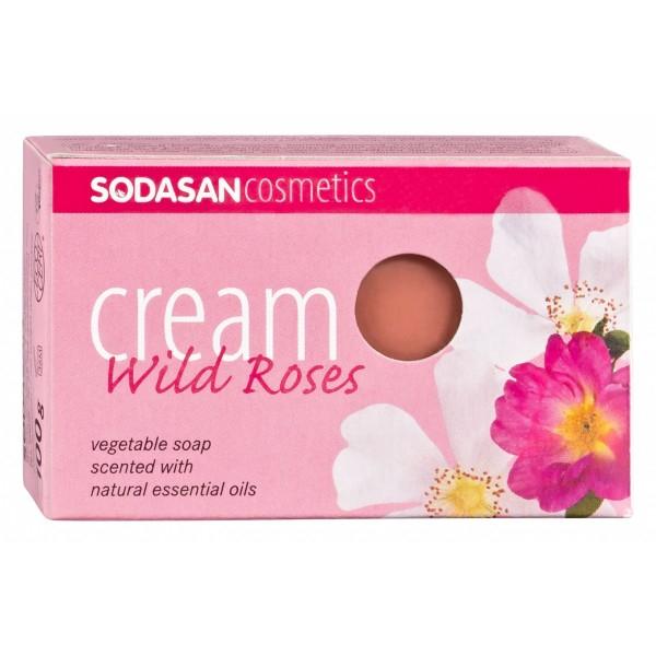 Sapun crema bio trandafir salbatic 100g SODASAN 0