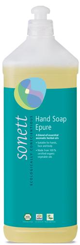Sapun lichid ecologic Epure 1L, Sonett 0