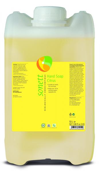 Sapun lichid ecologic Lamaie 10L, Sonett 0