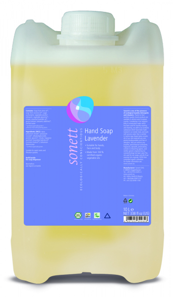 Sapun lichid ecologic Lavanda 10L, Sonett 0