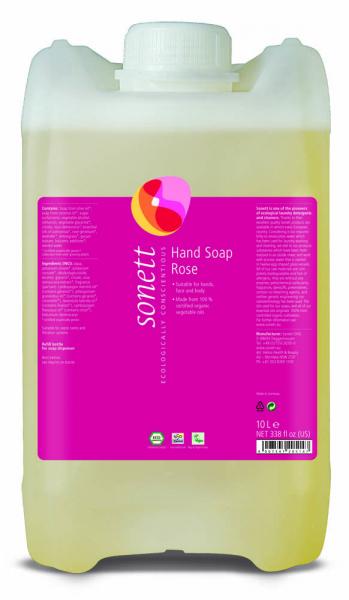 Sapun lichid ecologic Trandafiri 10L, Sonett 0