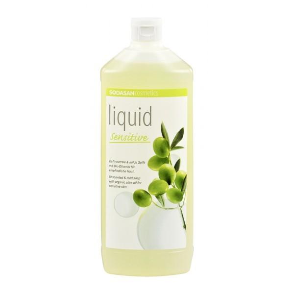 Sapun Lichid/Gel De Dus Bio Neutru Sensitiv 1 L Sodasan 0