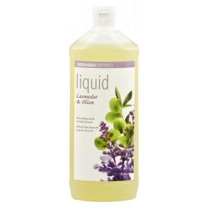 Sapun lichid/gel de dus ecologic Lavanda - Masline 1L 0