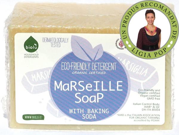 Biolu Sapun de Marsilia ecologic 140g 0