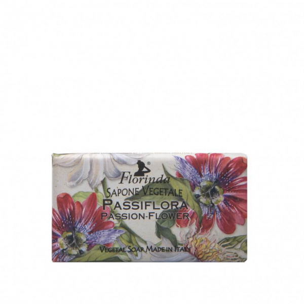 Sapun vegetal cu floarea pasiunii Florinda, 100 g La Dispensa 0