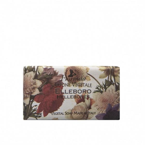 Sapun vegetal cu flori de Elleboro Florinda, 100 g La Dispensa [0]