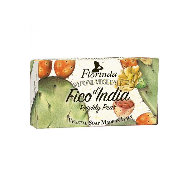 Sapun vegetal cu fruct de cactus Florinda, 100 g La Dispensa [0]