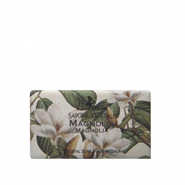 Sapun vegetal cu magnolie Florinda, 100 g La Dispensa 0