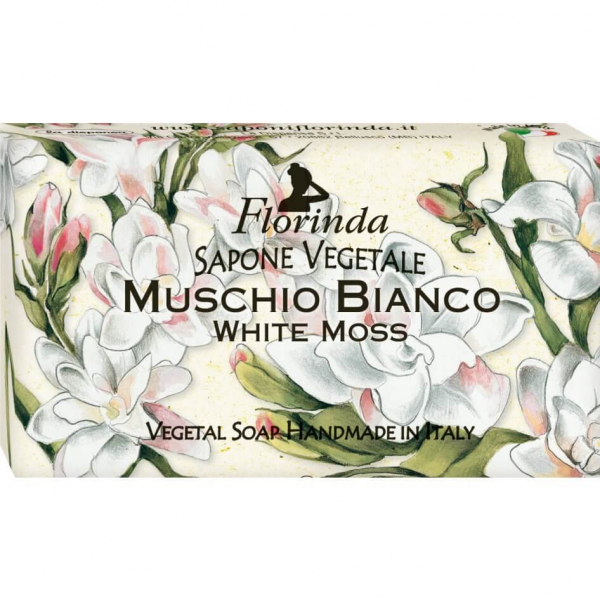 Sapun vegetal cu mosc alb Florinda, 100 g La Dispensa [0]