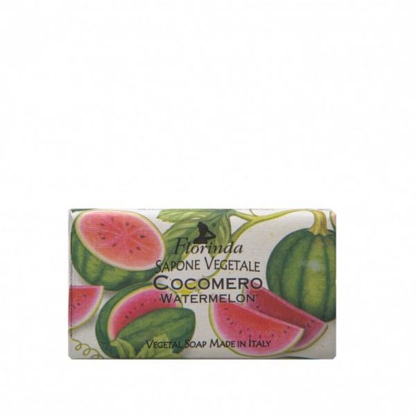 Sapun vegetal cu pepene verde Florinda, 100 g La Dispensa [0]