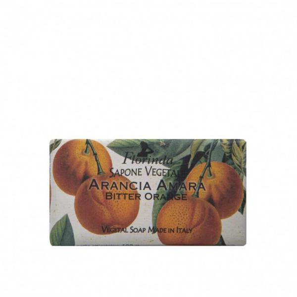 Sapun vegetal cu portocale amare Florinda, 100 g La Dispensa 0