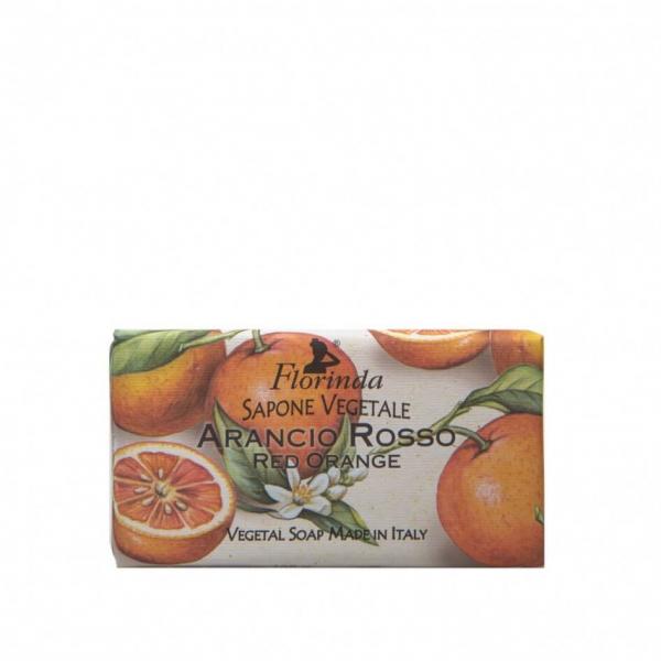 Sapun vegetal cu portocale rosii Florinda, La Dispensa, 100g 0