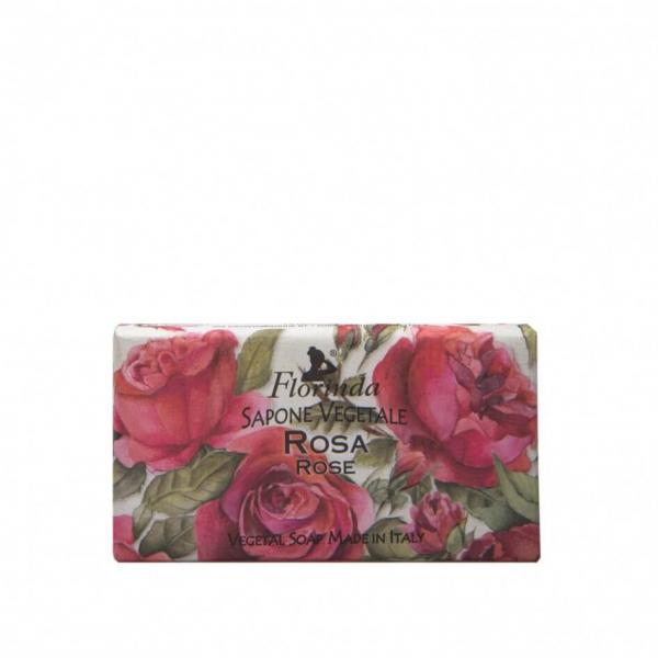 Sapun vegetal cu trandafiri Florinda, 100 g La Dispensa 0