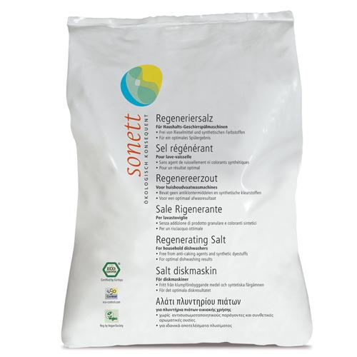 Sare regeneranta ecologica pt. masina de spalat vase, 2kg, Sonett 0
